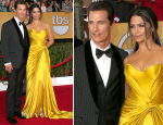 Camila Alves In Donna Karan Atelier & Matthew McConaughey In Dolce & Gabbana – 2014 SAG Awards