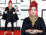Cyndi Lauper In Alexander McQueen – 2014 Grammy Awards