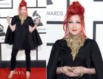 Cyndi Lauper In Alexander McQueen – 2014 Grammy Awards