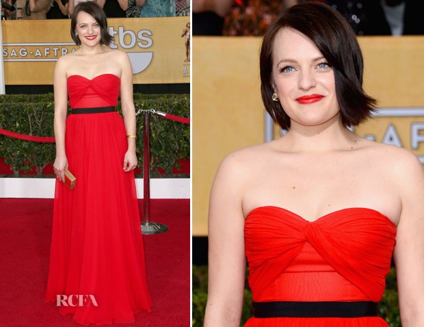 Elisabeth Moss In Michael Kors – 2014 SAG Awards