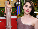 Emilia Clarke In Calvin Klein Collection – 2014 SAG Awards