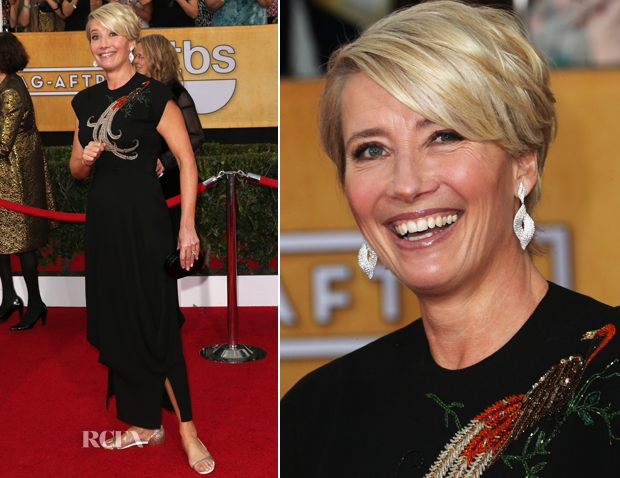 Emma Thompson In 1930s William Vintage – 2014 SAG Awards