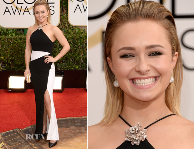 Hayden Panettiere In Tom Ford – 2014 Golden Globe Awards