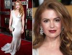 Isla Fisher In Oscar de la Renta – 2014 SAG Awards