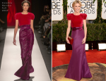 Julie Bowen In Carolina Herrera – 2014 Golden Globe Awards