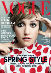 Lena Dunham For Vogue US February 2014