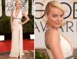 Margot Robbie In Gucci – 2014 Golden Globe Awards