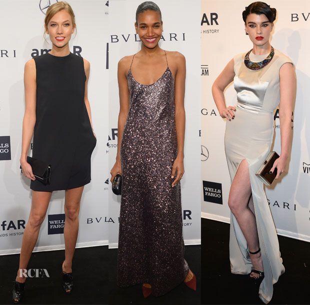 2014 amfAR New York Gala Models Roundup 2