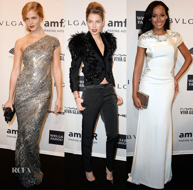 2014 amfAR New York Gala Models Roundup 3