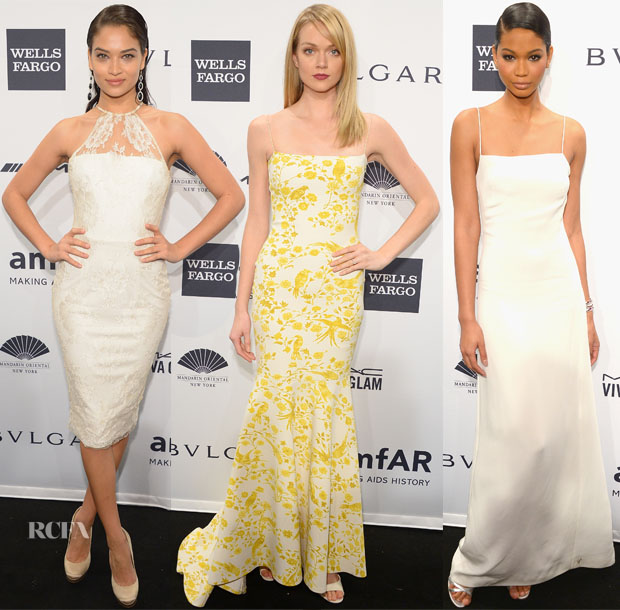 2014 amfAR New York Gala Models Roundup 55