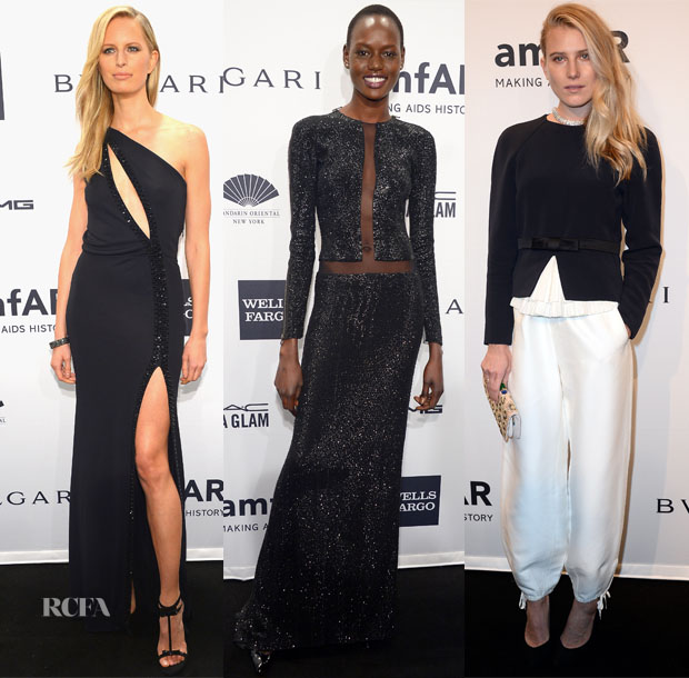 2014 amfAR New York Gala Models Roundup