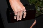 Stana Katic's Edie Parker clutch