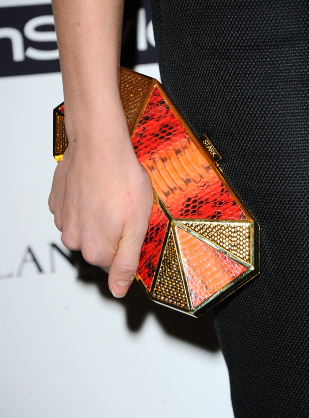 Natalie Dormer's Stark 'Put A Ring On It' clutch