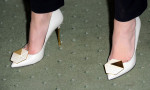 Anna Friel's Nicholas Kirkwood shoes