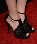 Zoey Deutch's Jimmy Choo heels