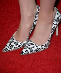 Sami Gayle's Miu Miu Music Note-Print Patent Leather Pumps