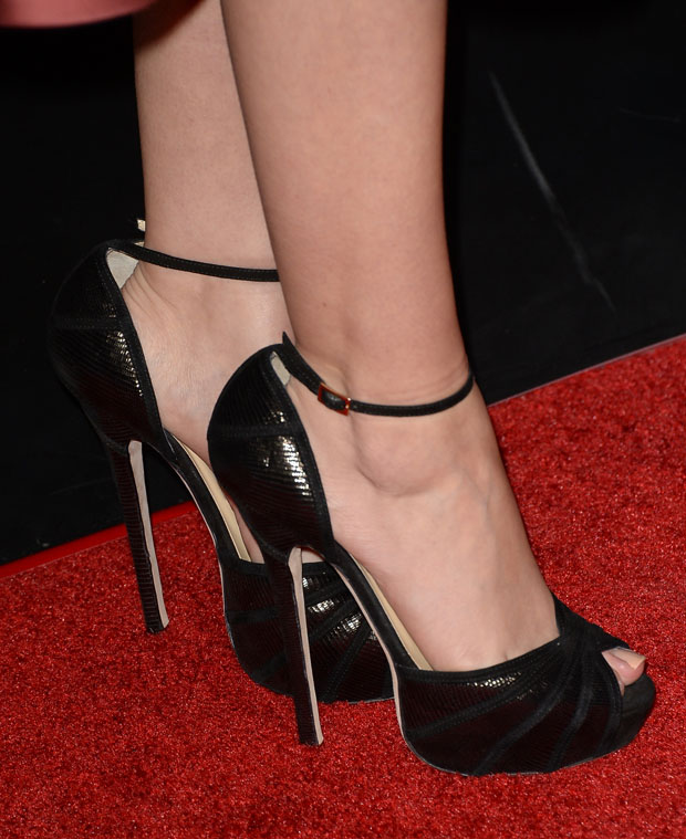 Sarah Hyland's Jimmy Choo sandals