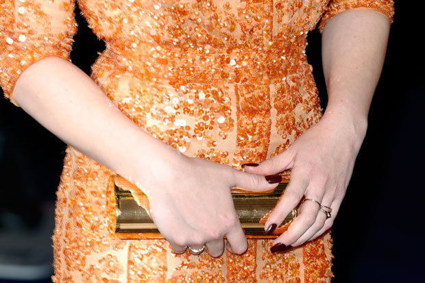 Abbie Cornish's Jimmy Choo clutch
