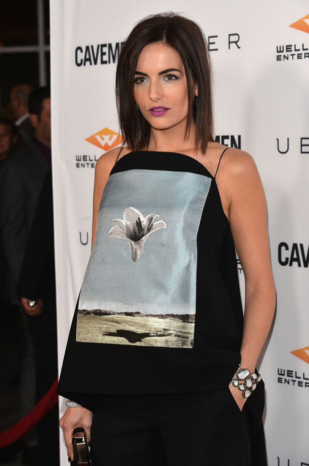 Camilla Belle in Christian Dior