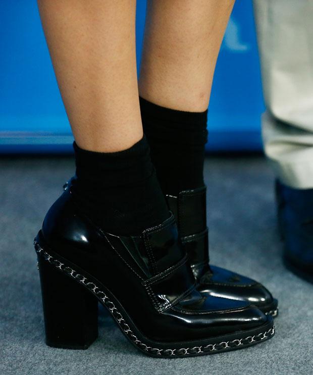 Diane Kruger's Chanel boots