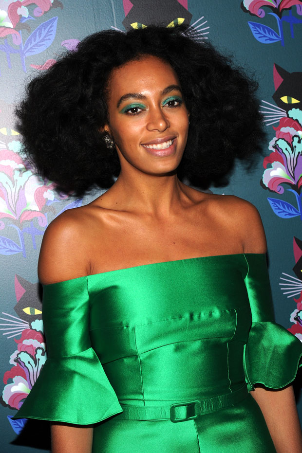 Solange Knowles in Carven
