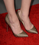 Amber Heard's Christian Louboutin 'So Kate' pumps