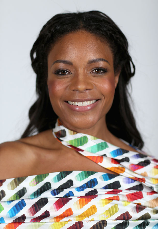 Naomie Harris in Chanel