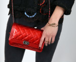 Alicia Vikander's Chanel 'Boy' bag