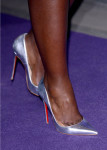 Lupita Nyong'o's Christian Louboutin shoes