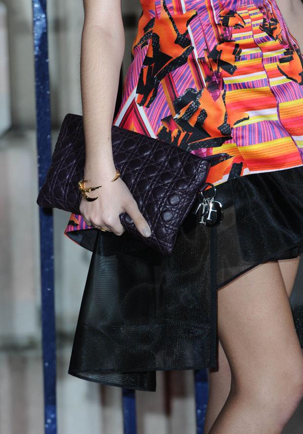 Amber Le Bon's Chrisitan Dior bag