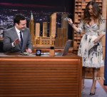Sarah Jessica Parker In Dolce & Gabbana - The Tonight Show Starring Jimmy Fallon