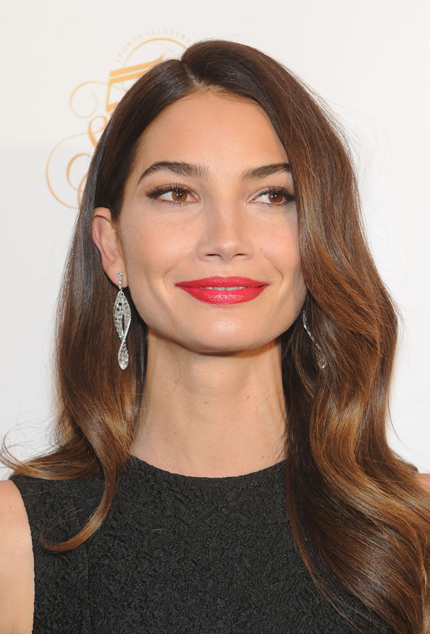 Lily Aldridge in Thakoon