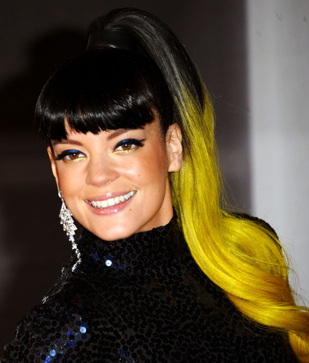 Lily Allen in vintage Norrell