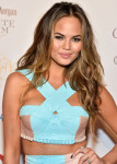 Chrissy Teigen in Fyodor Golan