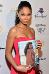 Chanel Iman in Roland Mouret