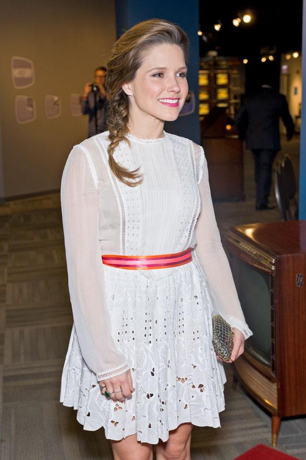 Sophia Bush in Alberta Ferretti