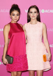 Sarah Hyland in Temperley London and Zoey Deutch in Dior