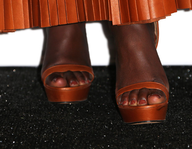Lupita Nyong'o's Givenchy shoes