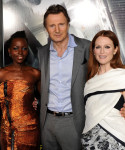 Lupita Nyongo in Lanvin and Julianne Moore in Prabal Gurung