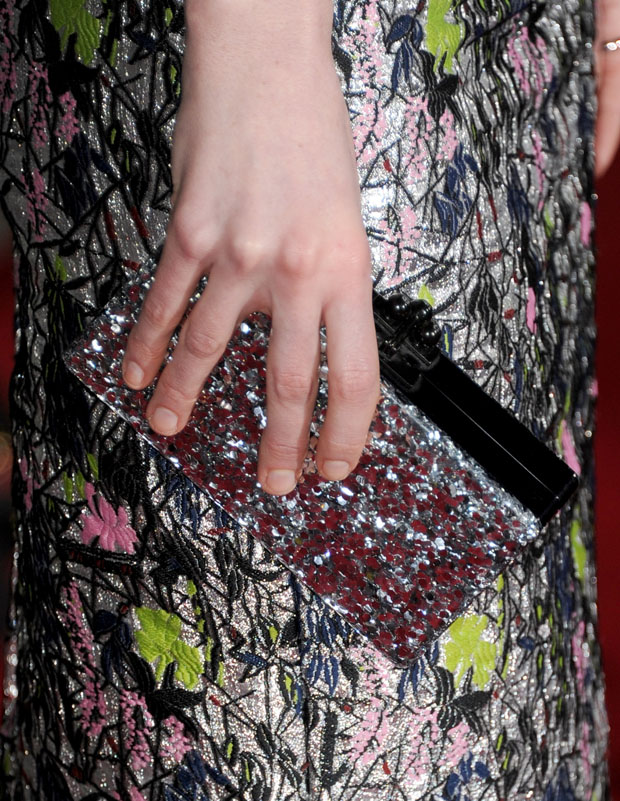 Michelle Dockery's Edie Parker clutch