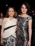 Julianne Moore in Prabal Gurung and Michelle Dockery in Dior