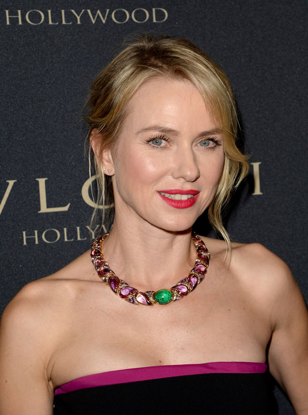 Naomi Watts' BVLGARI necklace