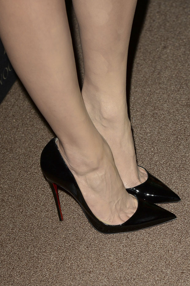 Emmy Rossum's Christian Louboutin 'So Kate' Pumps