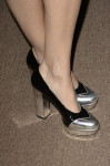 Camilla Belle's Miu MIu shoes