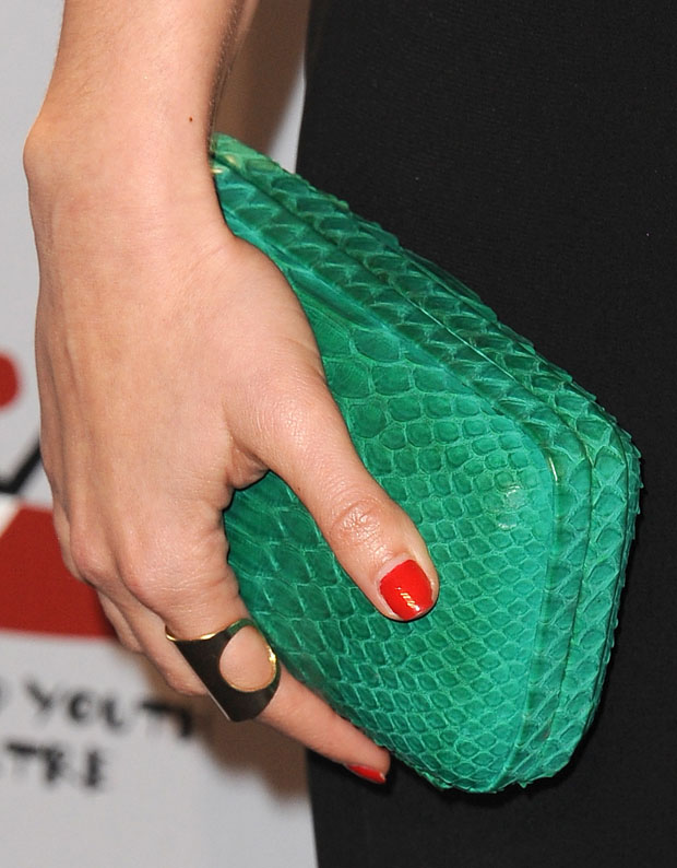 Jessica Lowndes' clutch