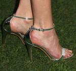 Malin Akerman's Aldo 'Daeng' silver sandals