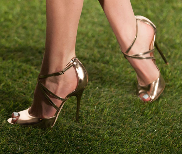 Bella Thorne's Jimmy Choo 'Lance' sandals
