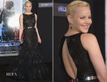 Abbie Cornish In Nicholas Oakwell Couture - 'RoboCop' LA Premiere