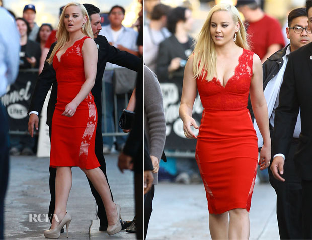 Abbie Cornish In Philip Armstrong - Jimmy Kimmel Live