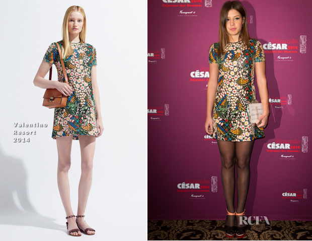 Adele Exarchopoulos In Valentino - 'Cesars 2014' Nominee Luncheon